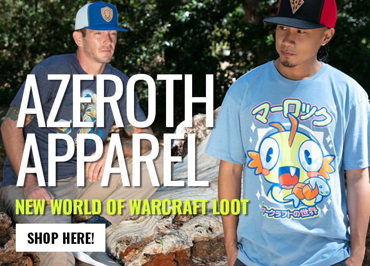 Azeroth apparel: Shop New World of Warcraft Loot