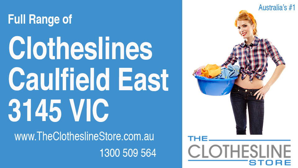 New Clotheslines in Caulfield East Victoria 3145