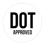 DOT RATED AND TESTED