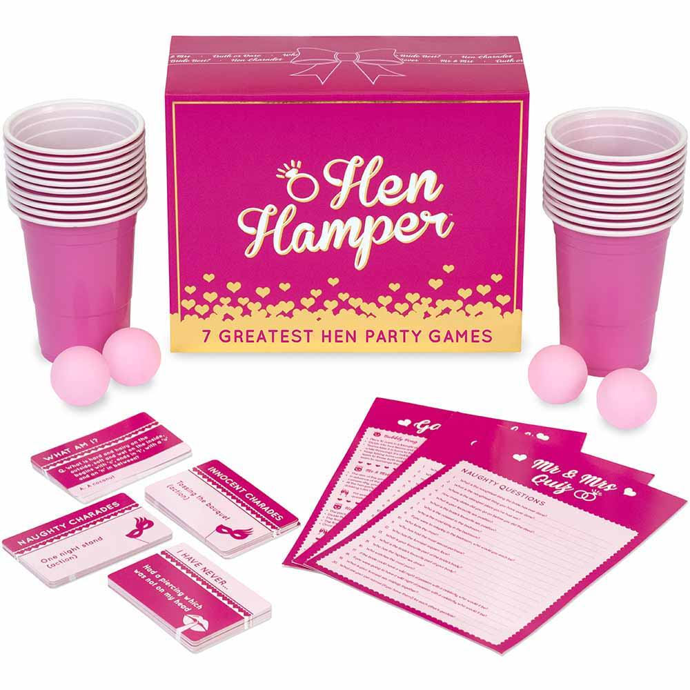Hen Hamper Party Drinking Game Box Front