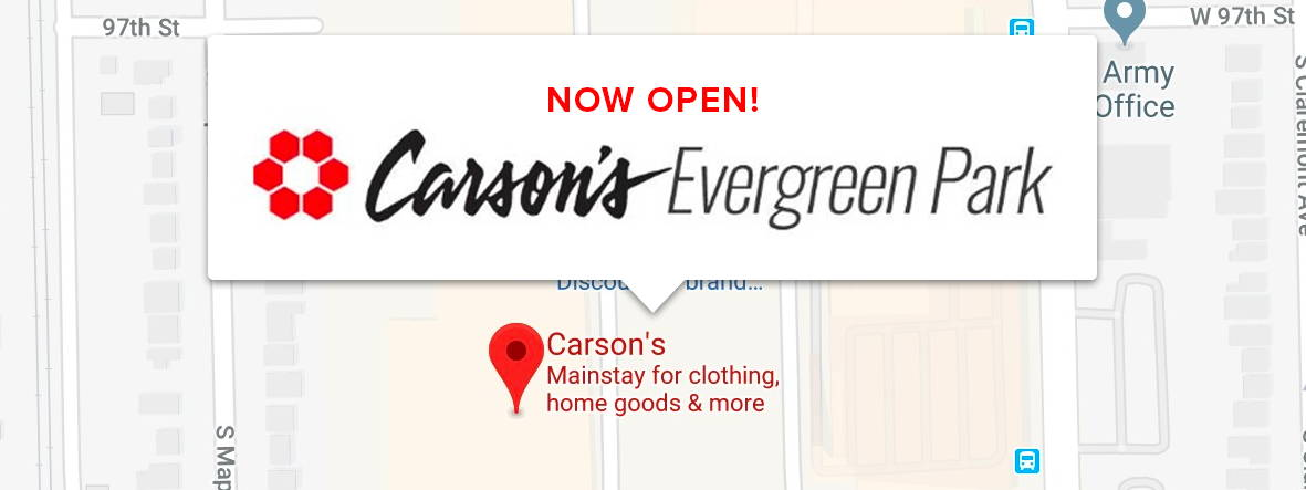 photo regarding Carsons Printable Coupons titled Carsons Evergreen Park
