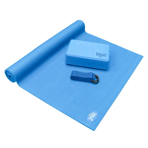 EVERLAST Set Completo para Yoga 3 Piezas, Yoga Kit