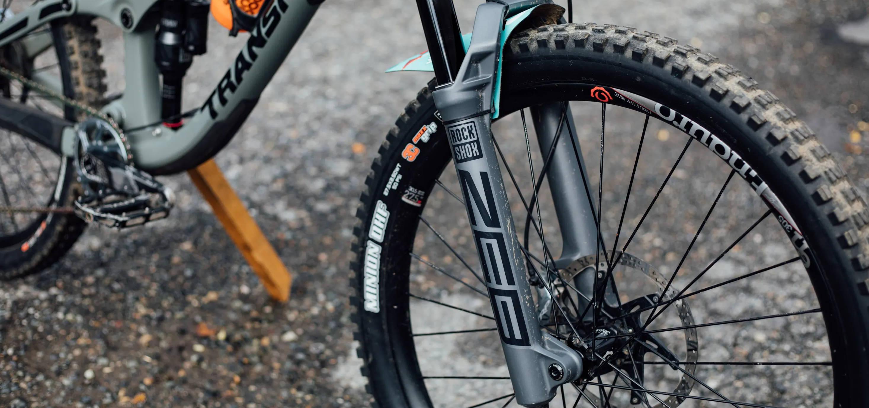 trrockshox zeb ultimate slab grey on a transition patrol review long term suspension fork mtb mountain bike  charger rc2 damper