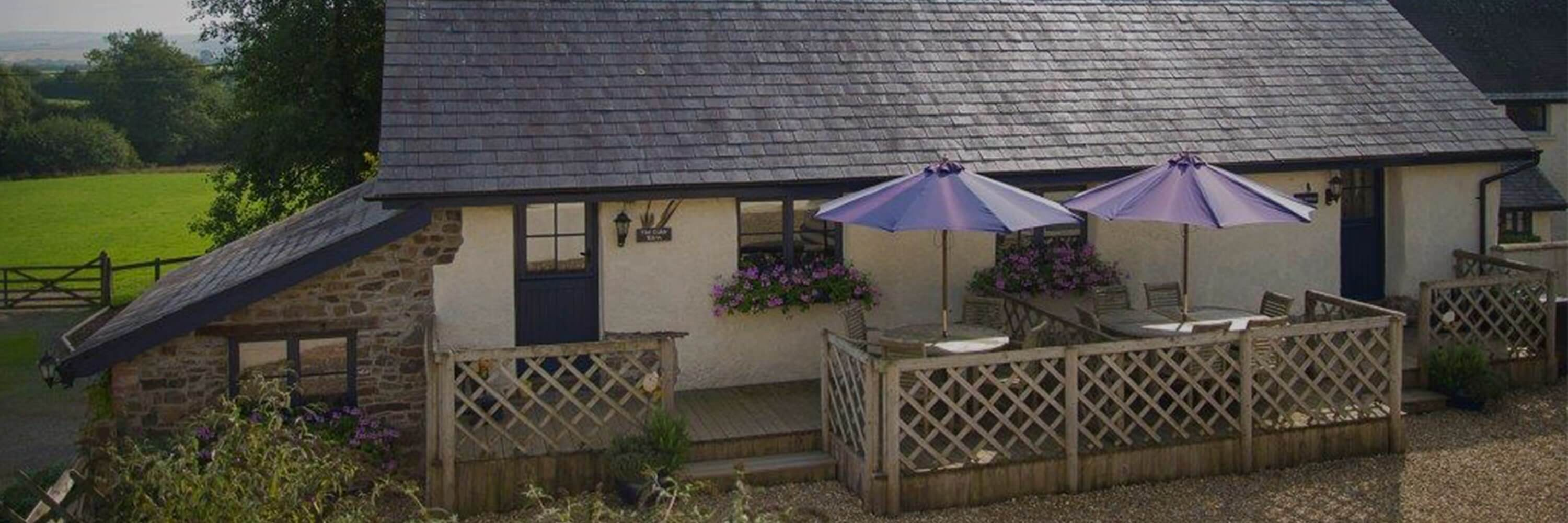 Outdoor Seating Area of Holiday Cottage