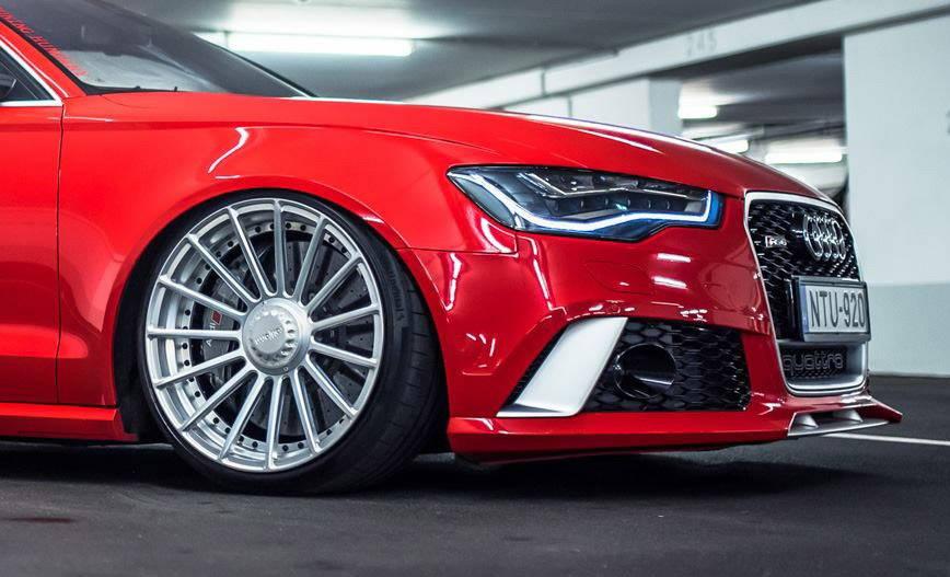 Wheel on Audi