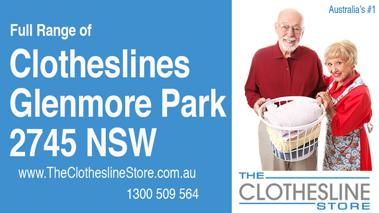 New Clotheslines in Glenmore Park 2745 NSW
