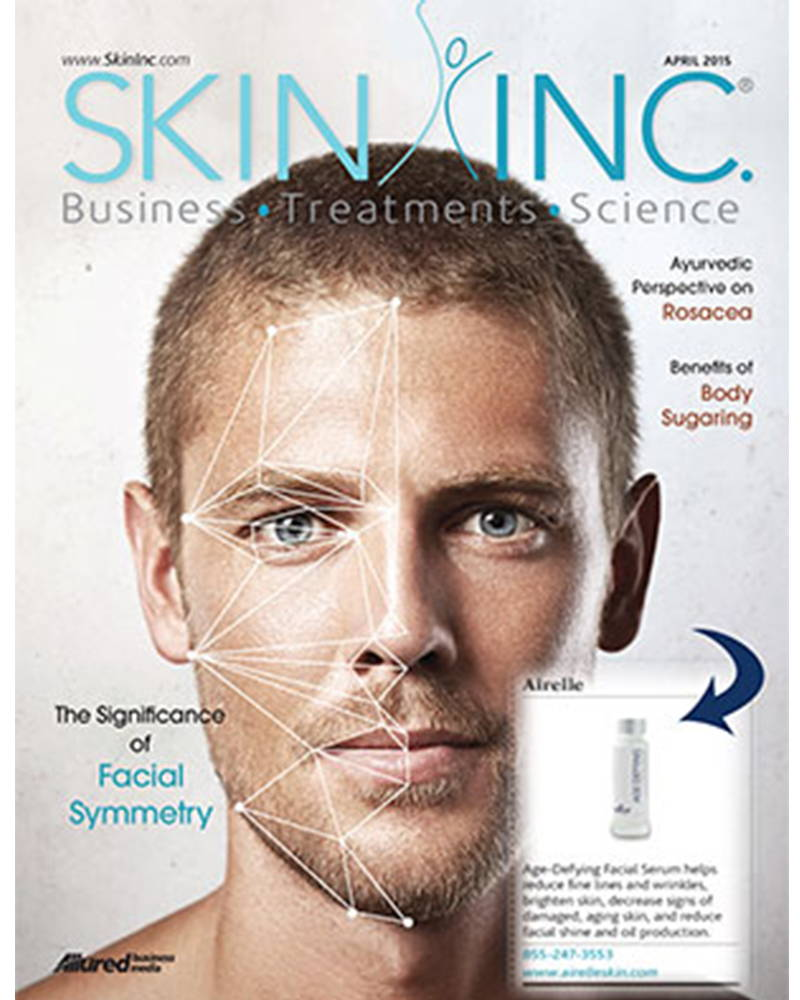 Skin Inc. magazine cover