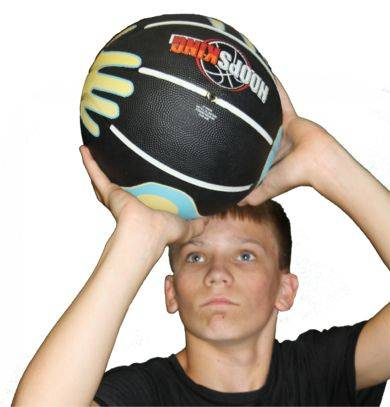 how to teach your child to properly shoot the basketball