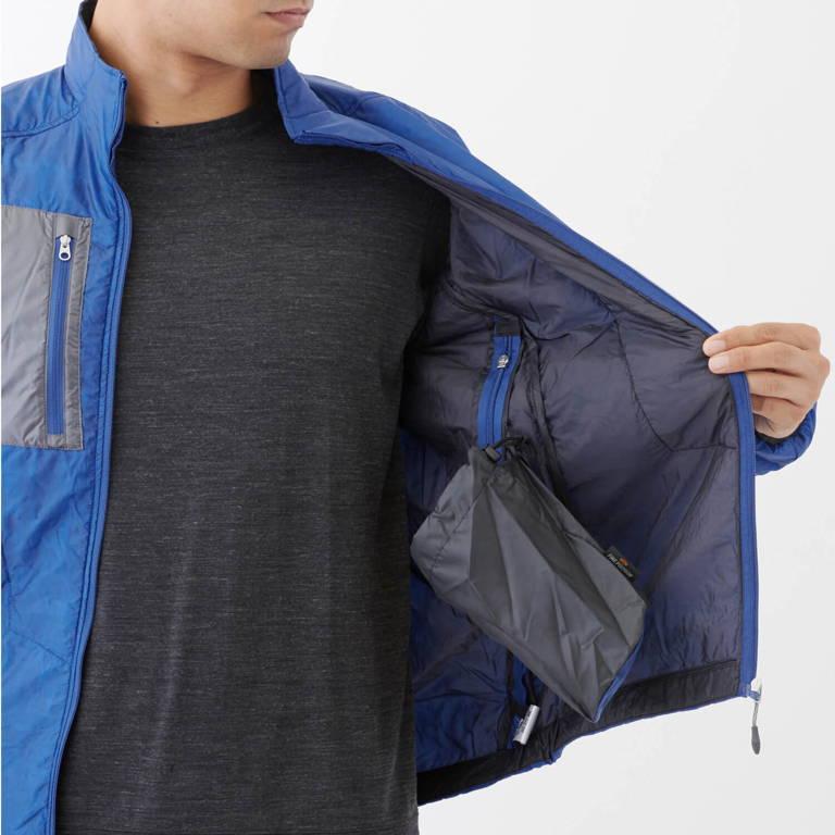 finetrack(ファイントラック )/ポリゴン2ULジャケット/ブルー/MENS