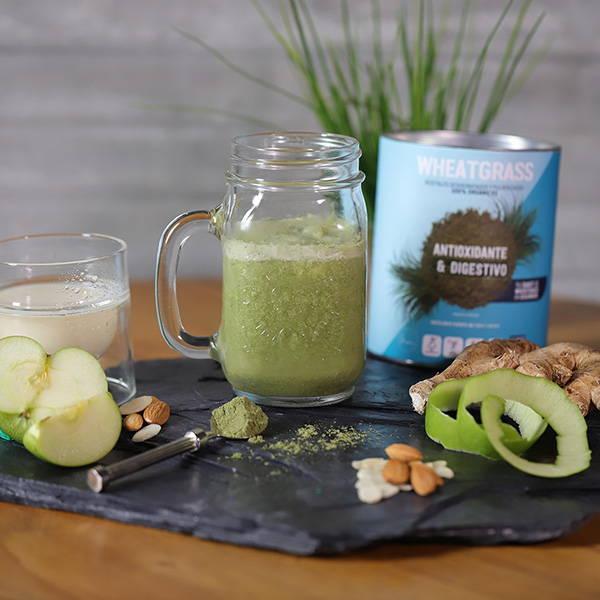 recetas con wheatgrass poder antioxidante