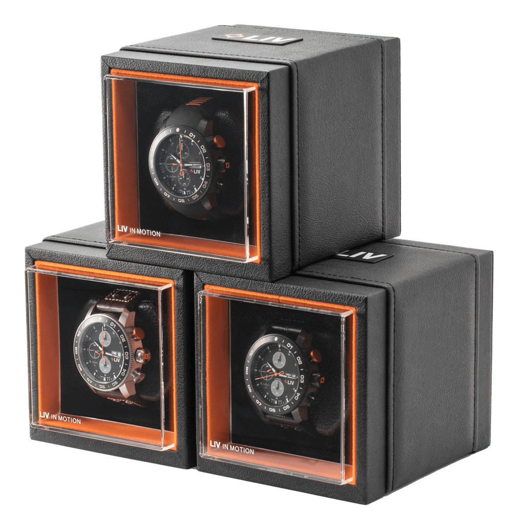 LIV Watches Stackable  Watch Winders