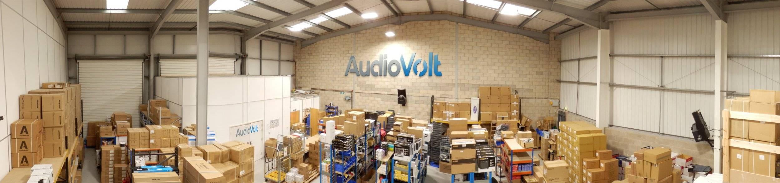Audio Volt  purpose built 5,700 sq ft warehouse