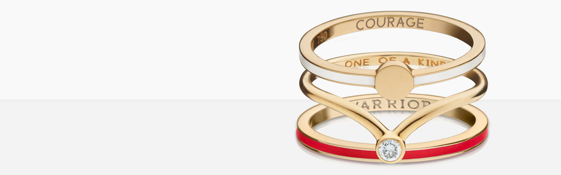 Stackable ring combinations