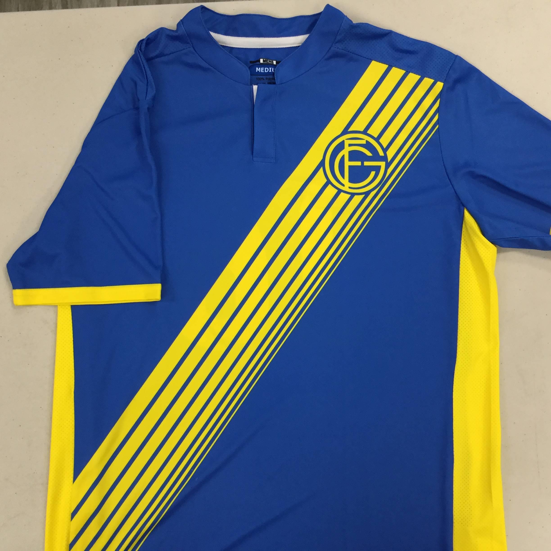Custom Soccer Jersey Example