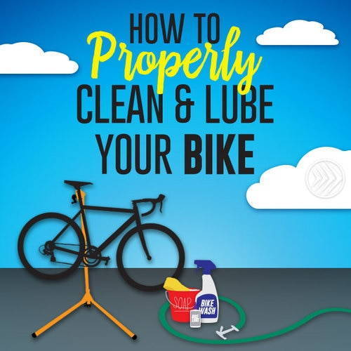 How To Properly Clean & Lube Your Bike
