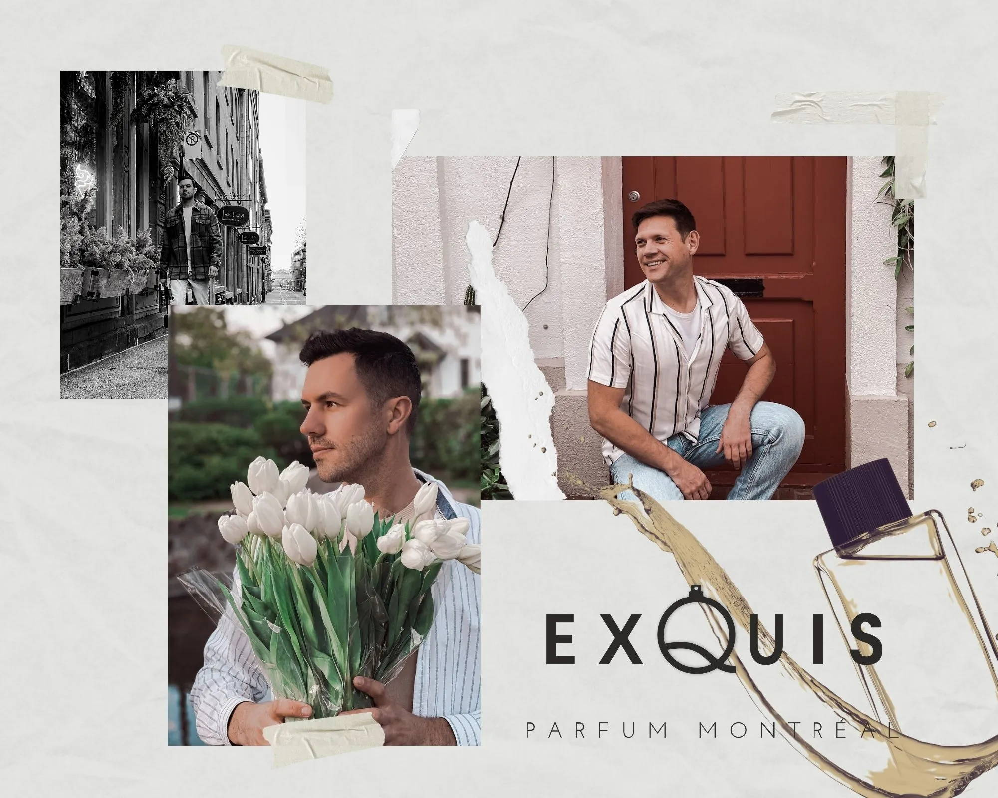co-founders of Parfum Exquis