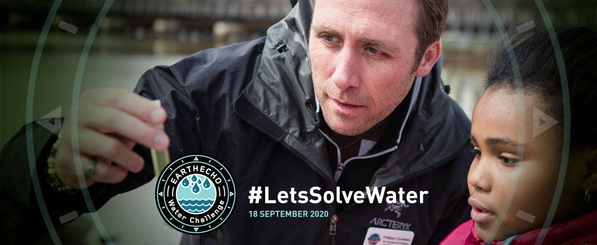 EarthEcho World Water Monitoring Day, September 18, 2020 - #LetsSolveWater