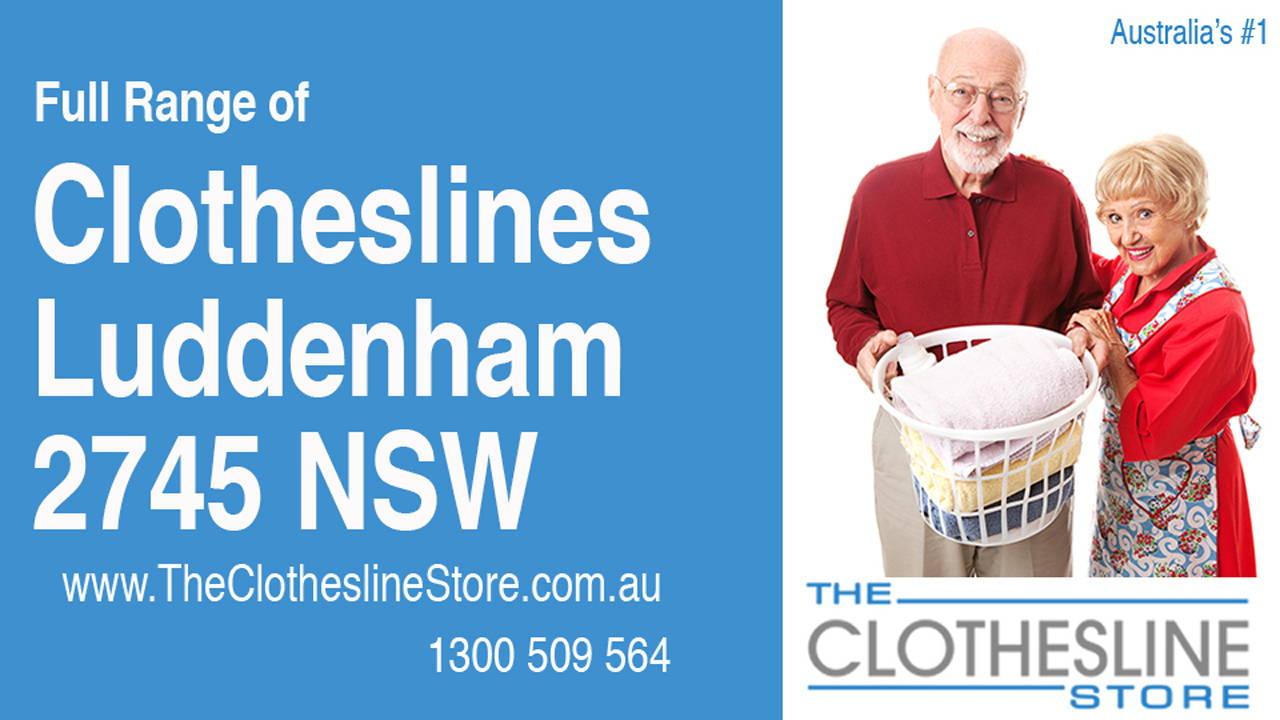 New Clotheslines in Luddenham 2745 NSW