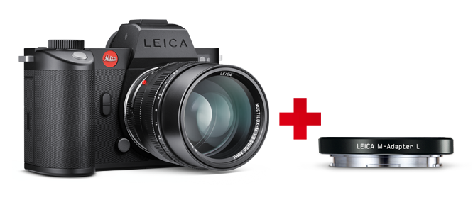 Leica Camera with an M-Adapter L Promotion