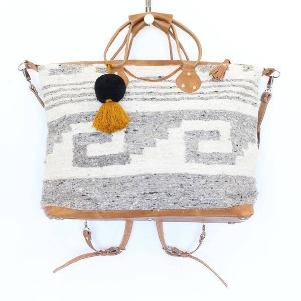 Wool Weekender Bag