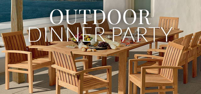 Outdoor Dinner Party Essentials