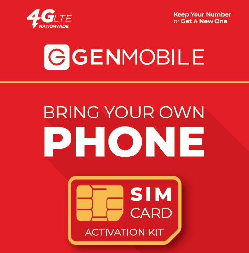 Gen Mobile Bring Your Own Phone Kit