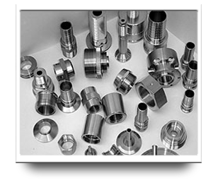 CNC Machined Products - Couplings, Nuts, Adapters & More