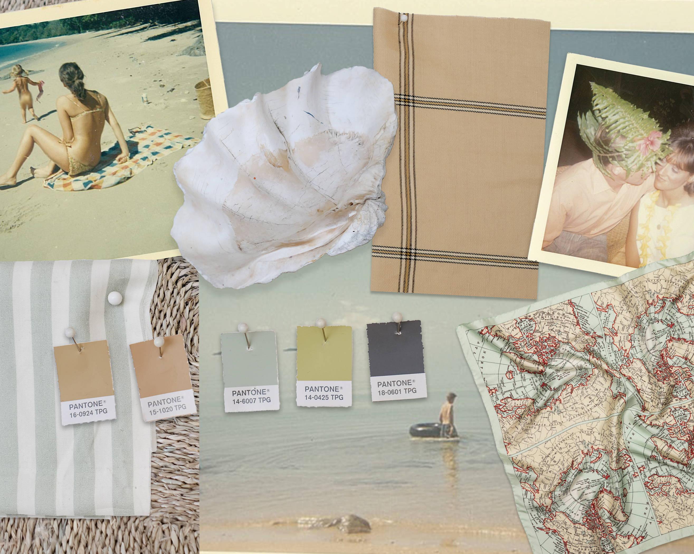Elements of Design Oroton, Pantone Colours