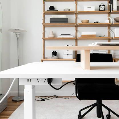 The Shift sit-stand desk - ergonofis