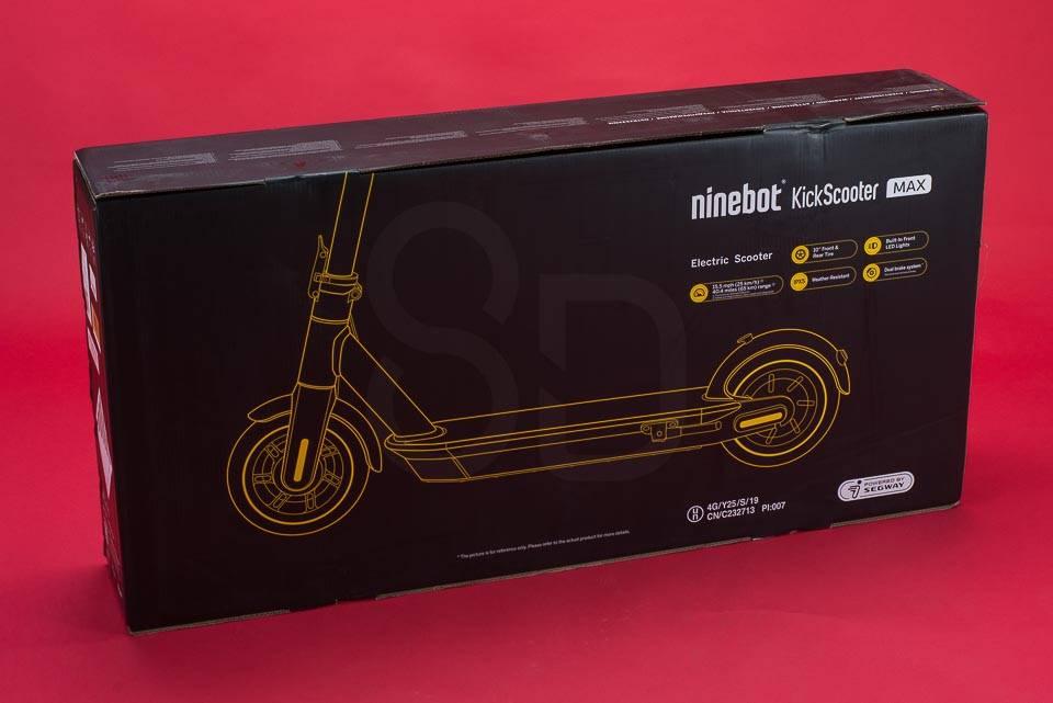 Ninebot Max G30 電動滑板車評論拆箱盒
