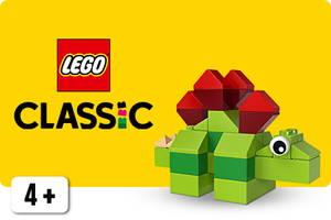 Classic LEGO sarjan dinosaurus