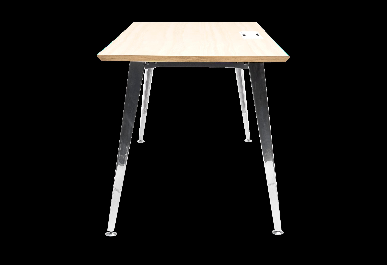 Side View Of Office Desk