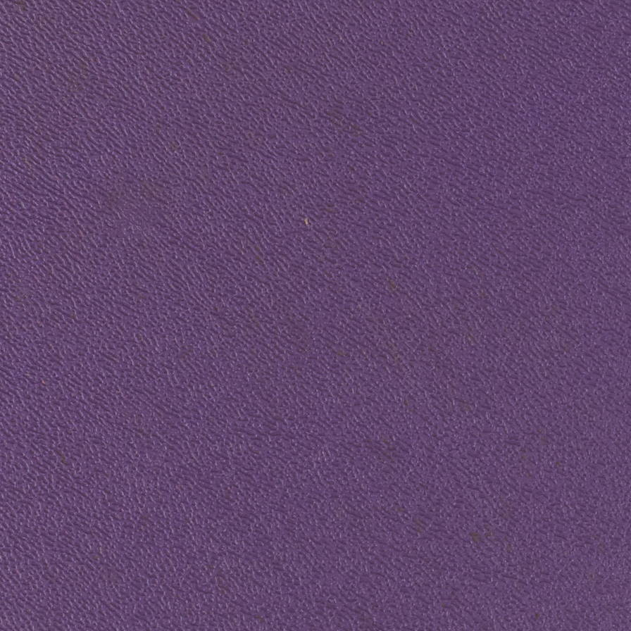 Purple ABS laminate skin