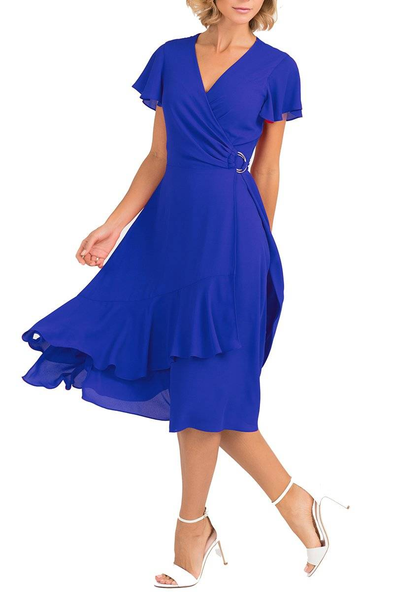 Sapphire Wrap Dress 191616