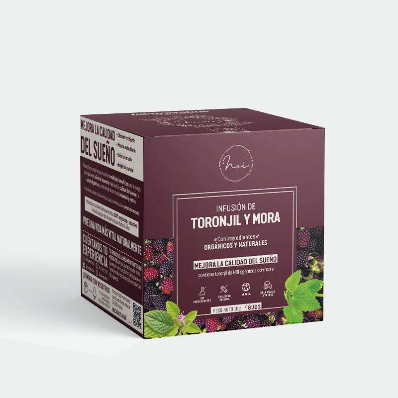caja infusion toronjil y mora mejora la calidad del sueno