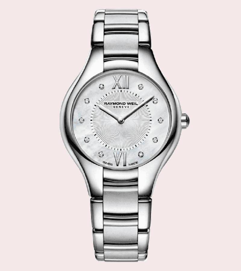 Raymond Weil Noemia Ladies Diamond Stainless Steel Quartz Watch