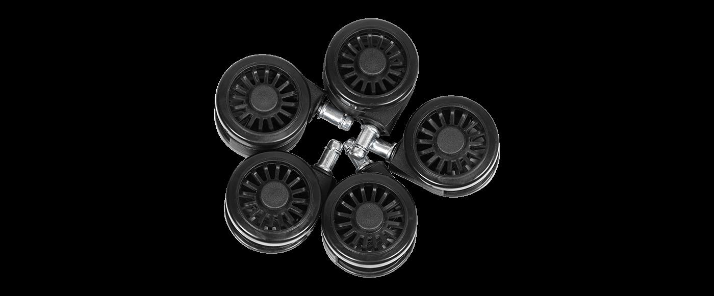 耐用的PU覆蓋65毫米特大號車輪