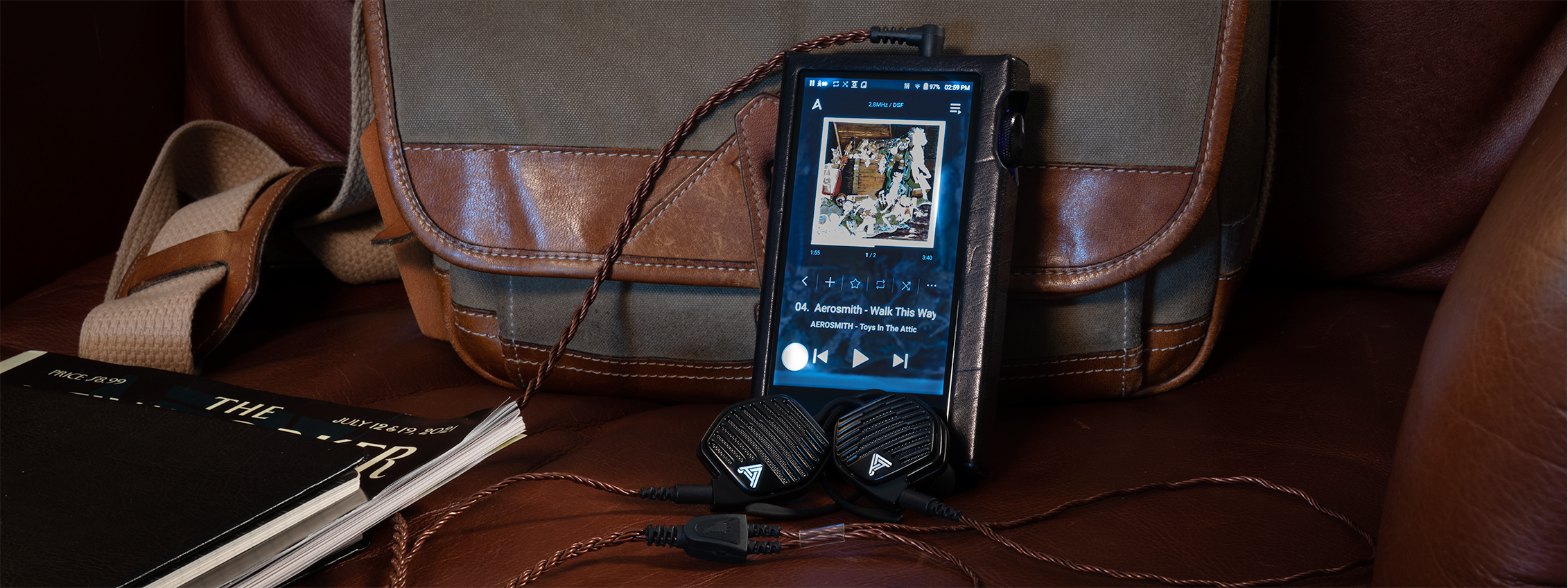 Audeze LCD-i3  with Bronze Dragon IEM cable and Astell&Kern SP1000 DAP.