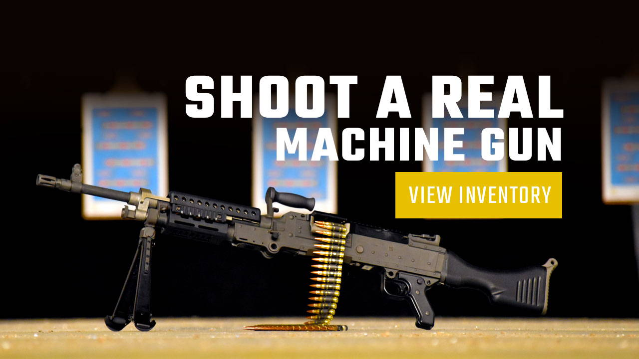 Firearm Rental Machine Gun