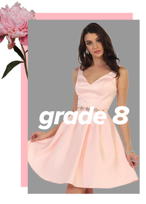 Party Dresses Wedding Dresses Prom Grade 8 Grad Dresses