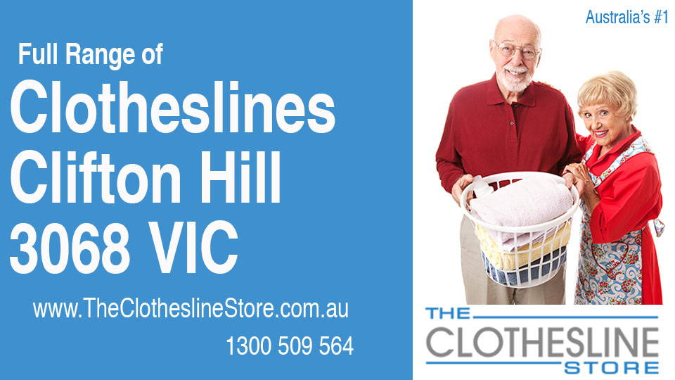 New Clotheslines in Clifton Hill Victoria 3068