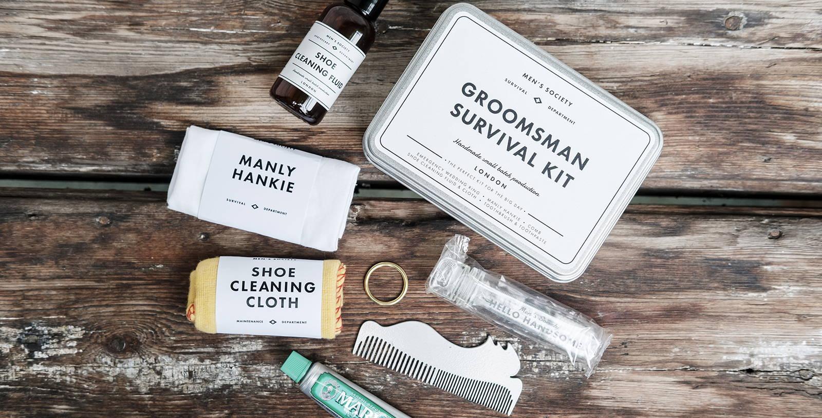 Groomsman Survival Kit