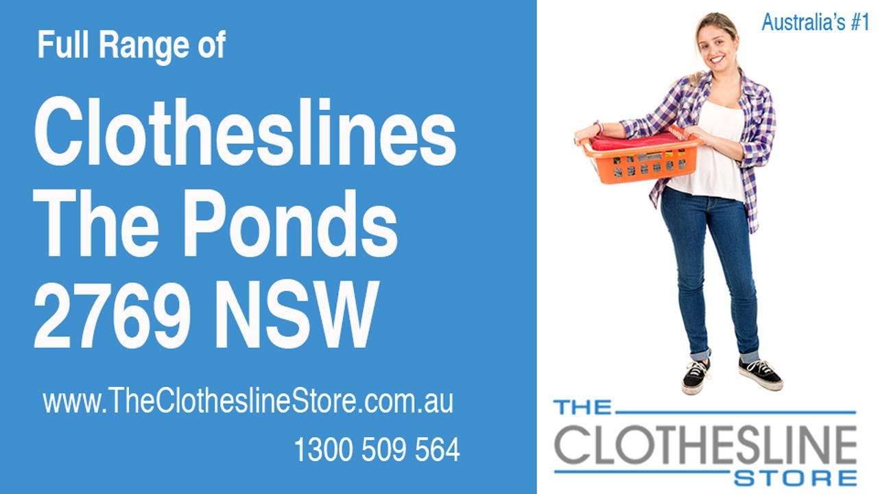 New Clotheslines in The Ponds 2769 NSW
