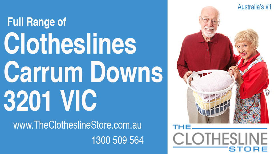 New Clotheslines in Carrum Downs Victoria 3201