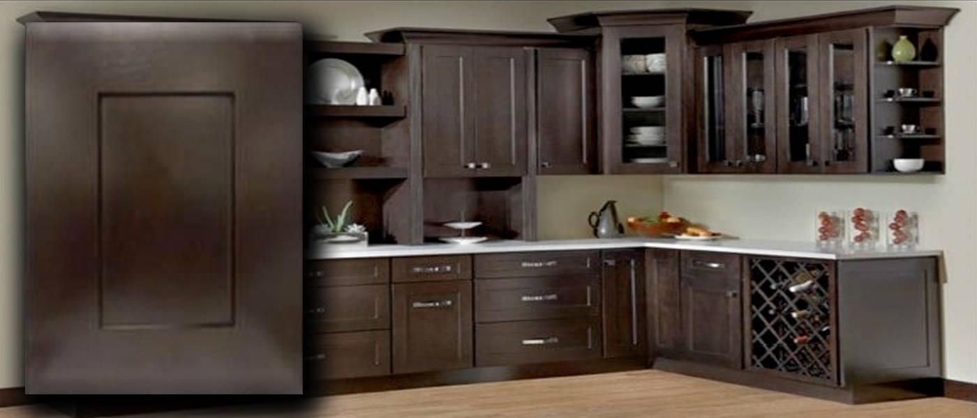 Java Shaker Kraftsman Cabinetry Kitchen