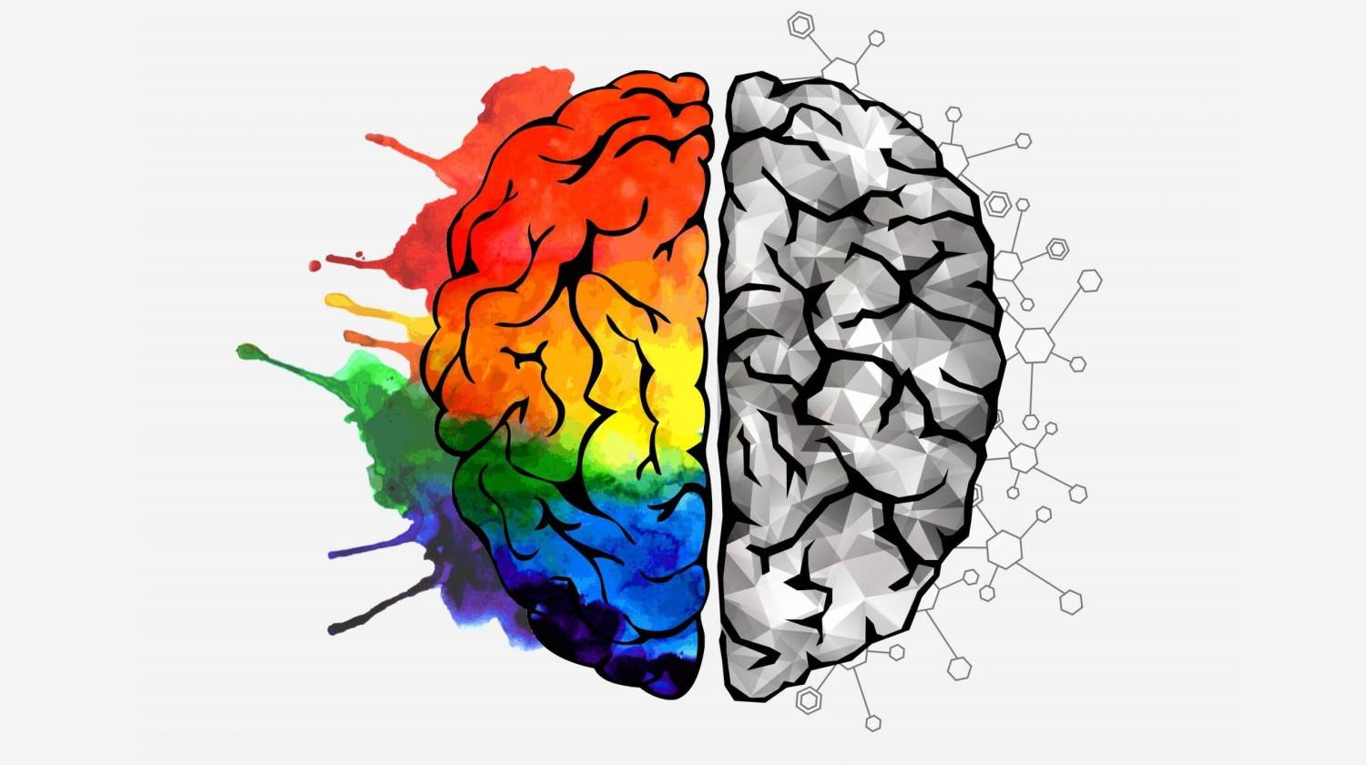 Creative concept of the human brain | Superfoods To Feed Your Brain And Improve Your Memory | brain booster vitamins | Featured