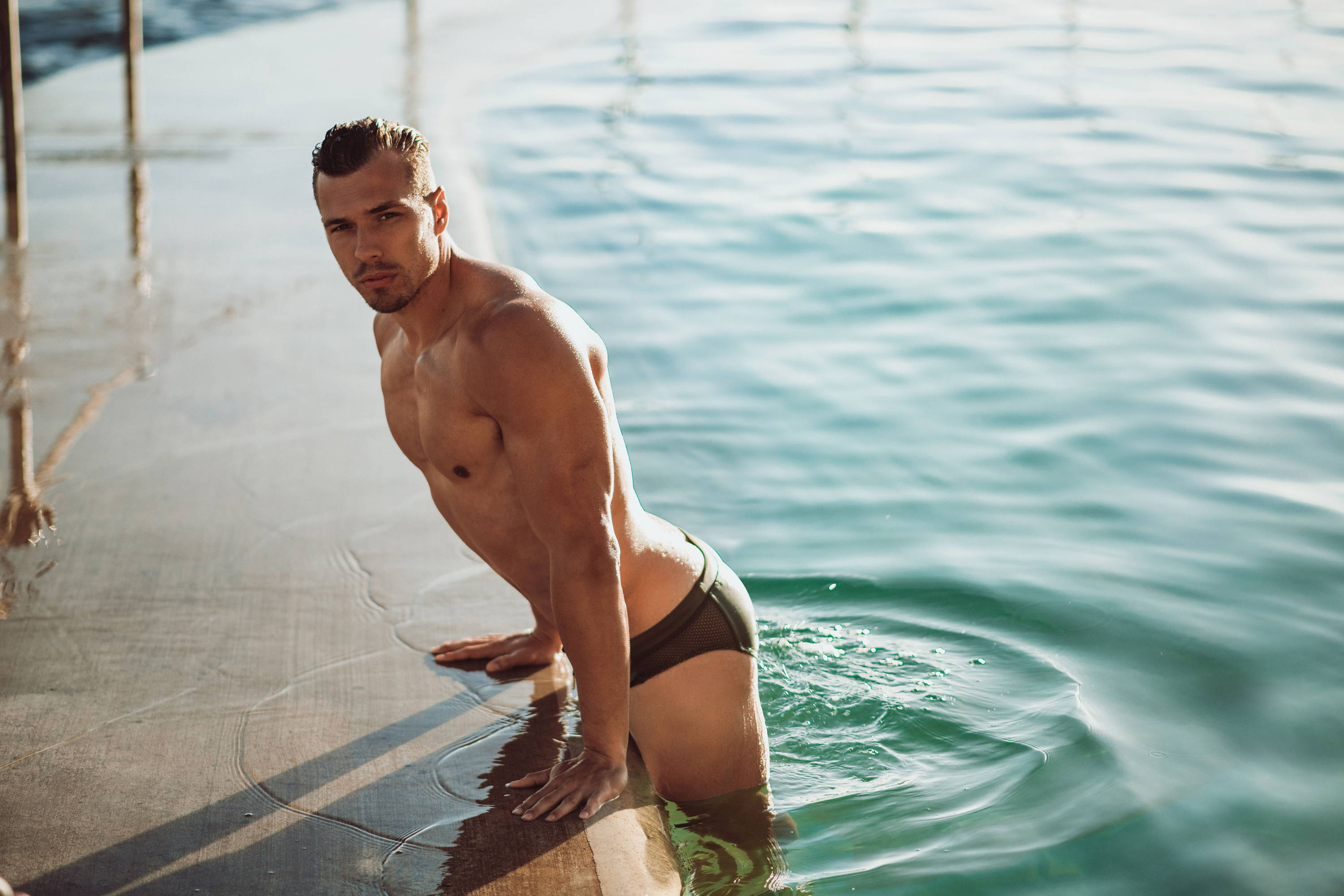 It's About The Man - Mark by Dion - Teamm8 | Man in swimwear, hunk in swimwear, shirtless male in swimwear