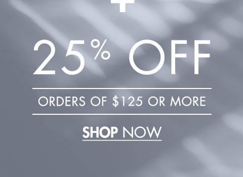 25% Off 125+