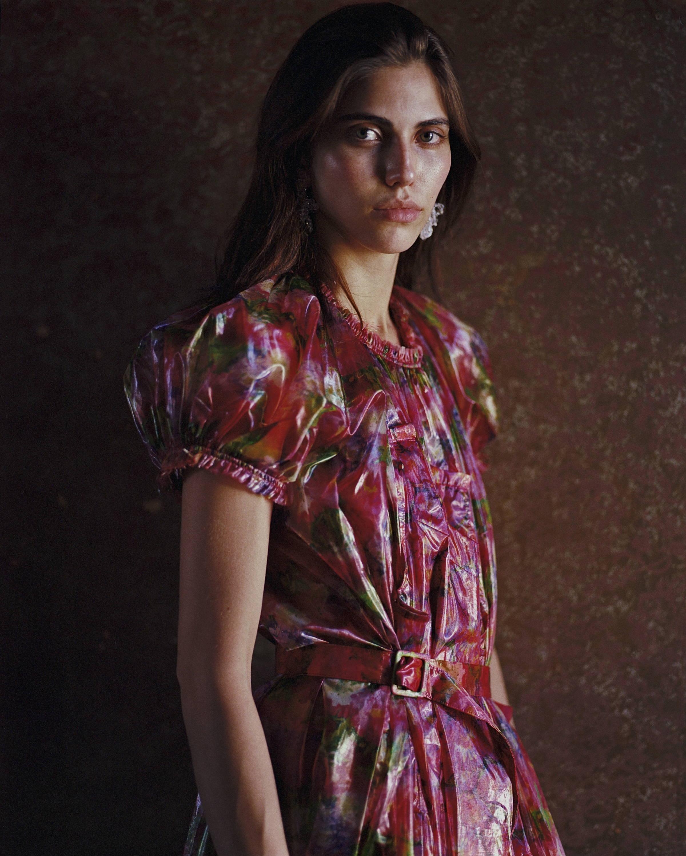Comme des Garcons F/W18 Belted Cellophane Dress - Hlorenzo