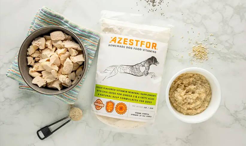 diy dog food ingredients chicken oatmeal